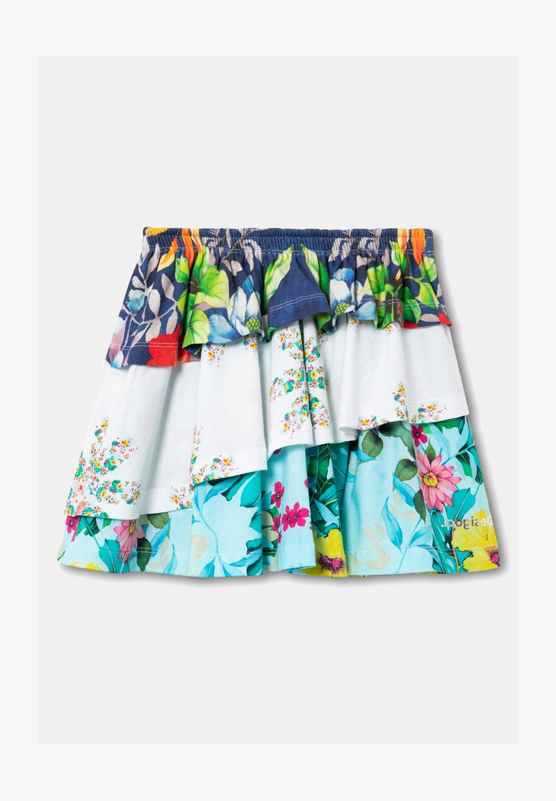 Desigual - FAL_CURIE - Mini skirt - white