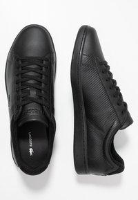 Lacoste - CARNABY EVO - Zapatillas - black - 1