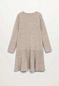 Mango - CECI - Pletené šaty - zand - 1