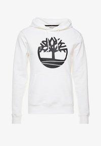 Timberland - CORE TREE LOGO HOODIE - Luvtröja - white - 4