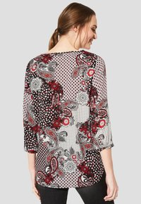 comma casual identity - 3/4 ARM - Blouse - red - 2