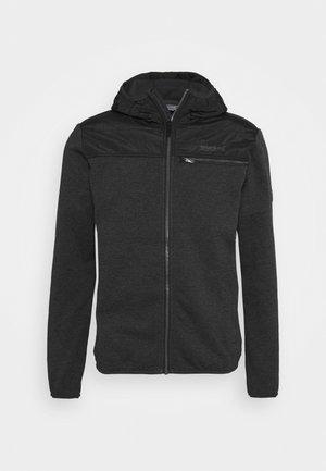 UPHAM HYBRID - Fleece jacket - black