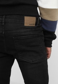 YOURTURN - Jeans Skinny Fit - black denim - 5