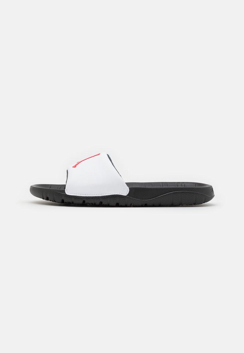 Jordan - JORDAN BREAK SLIDE - Mules - black/university red/white