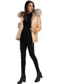 Navahoo - TIKUNAA - Winter jacket - gold - 0