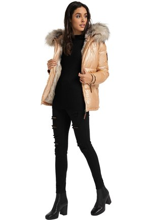 TIKUNAA - Winter jacket - gold