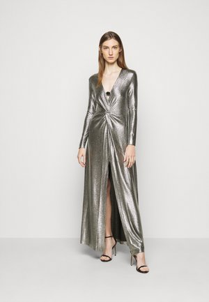 CIRCOLO DRESS - Occasion wear - silver/black