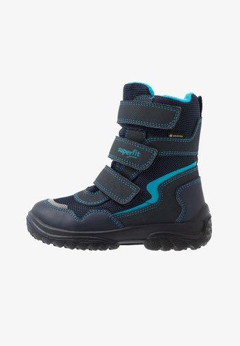 SNOWCAT - Winter boots - blau