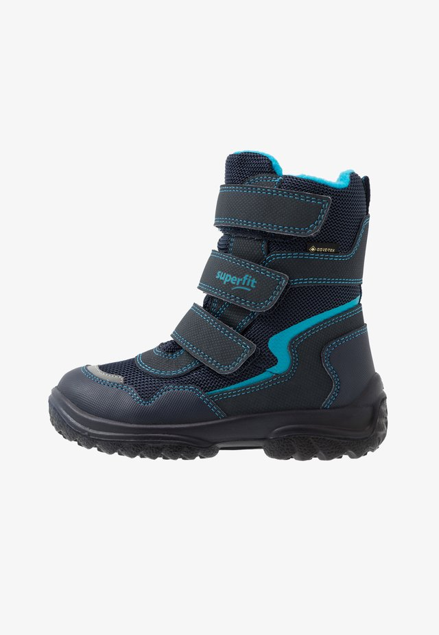 SNOWCAT - Zimní obuv - blau