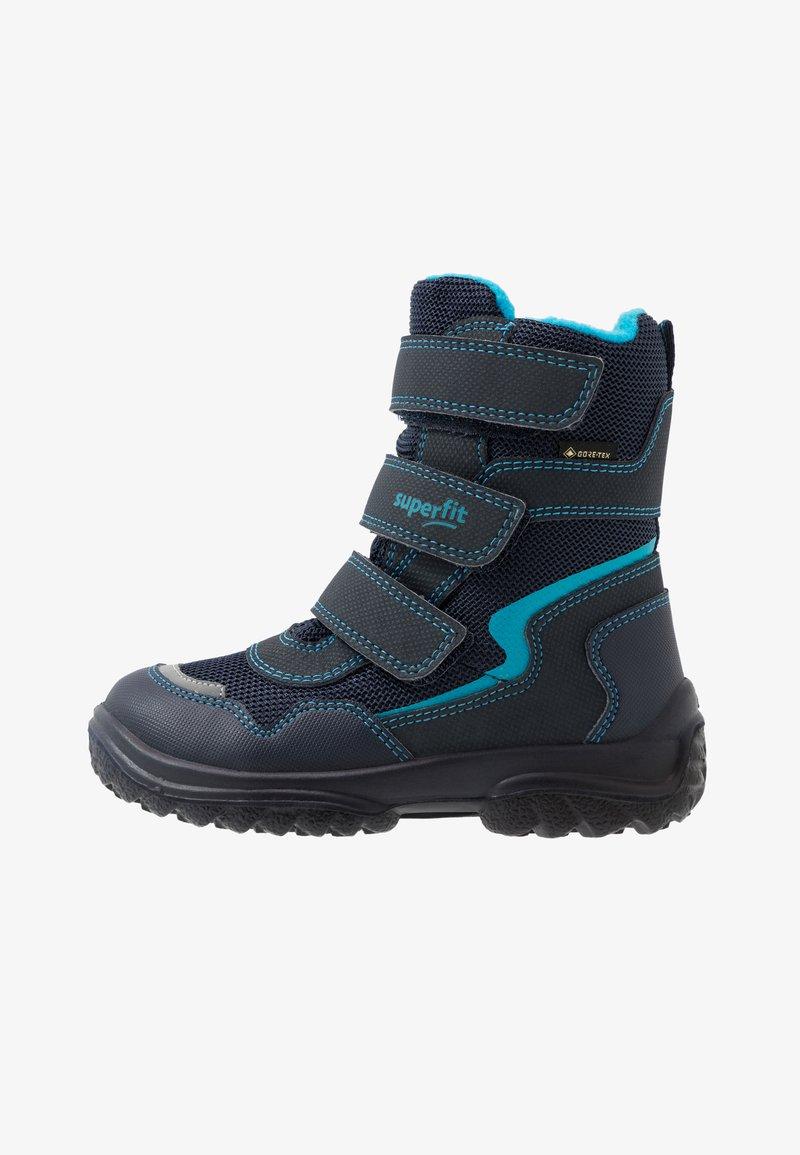 Superfit - SNOWCAT - Winter boots - blau