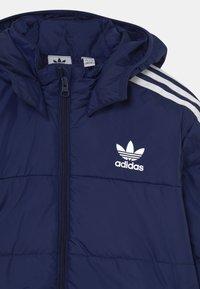 adidas Originals - PADDED UNISEX - Winter jacket - night sky/white - 3