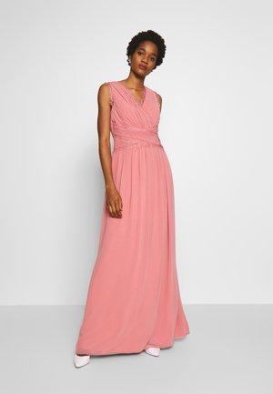 Společenské šaty - desert rose