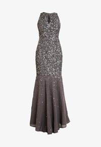 Maya Deluxe - KEYHOLE FRONT ALL OVER EMBELLISHED FISHTAILDRESS - Occasion wear - charcoal - 5