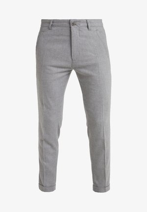 BREW - Trousers - light grey