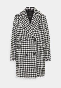 YASHILMA COAT - Classic coat - black/white