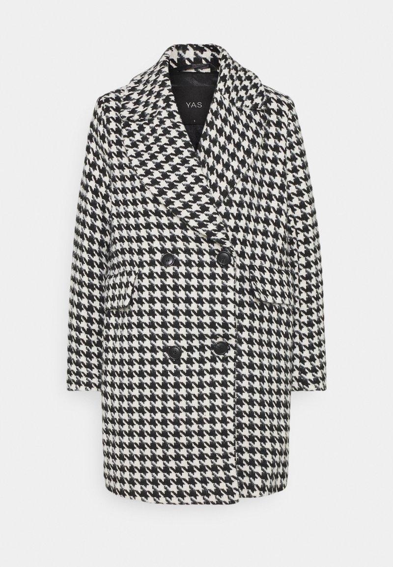 YAS Petite - YASHILMA COAT - Classic coat - black/white