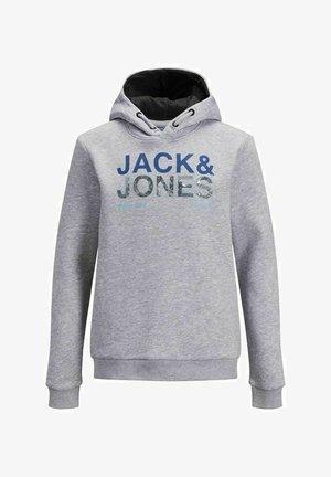 Jersey con capucha - light grey melange