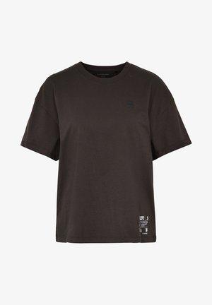 CARNI - Print T-shirt - dk black