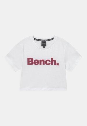KAY - T-shirt print - white