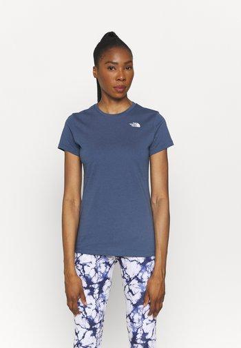 SIMPLE DOME TEE - T-shirts basic - vintage indigo