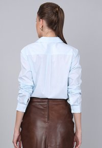 Basics and More - Button-down blouse - turquoise - 1