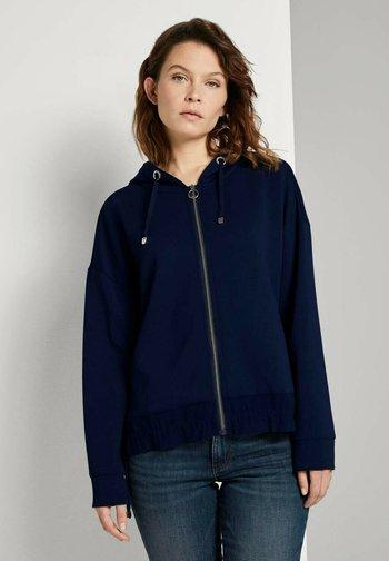 Zip-up hoodie - sky captain blue