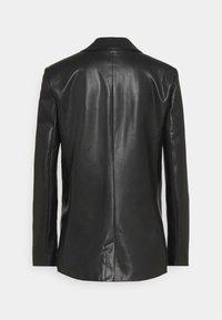 Patrizia Pepe - GIACCA SOFT - Faux leather jacket - nero - 1