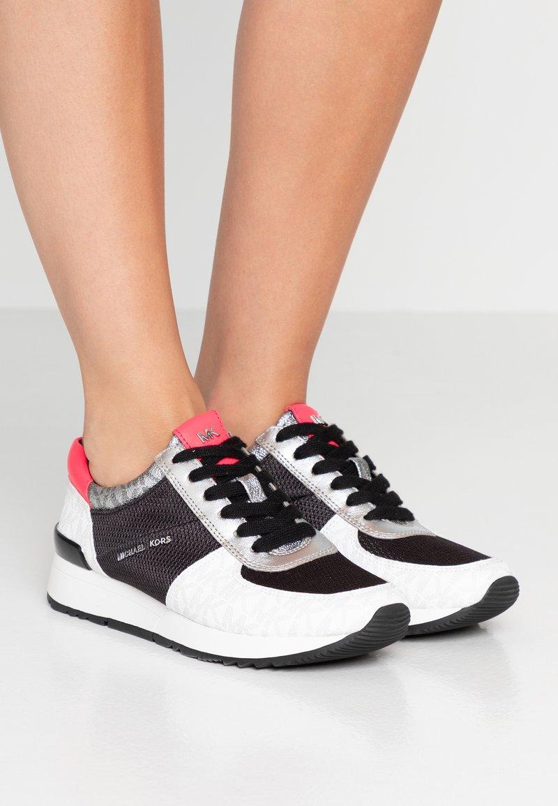 MICHAEL Michael Kors - ALLIE TRAINER - Sneakers - black/multicolor