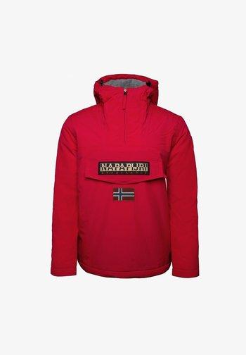 RAINFOREST WINTER - Winter jacket - red tango