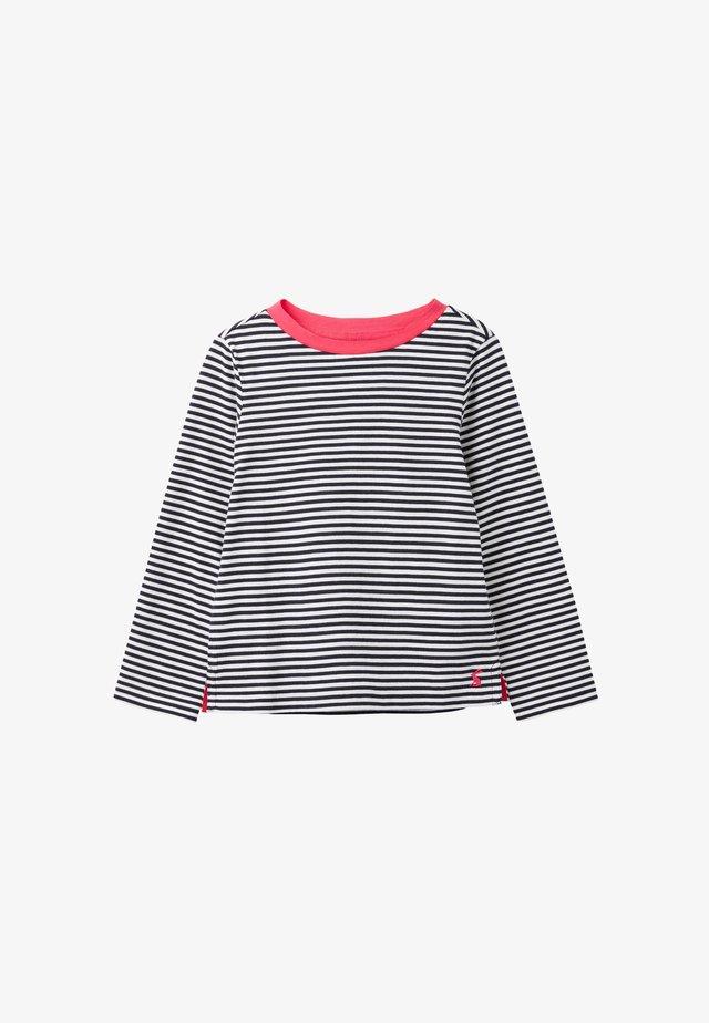 PASCAL - Camiseta de manga larga - weißer nebel barett blau