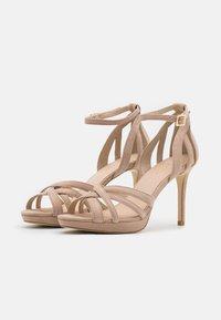 Anna Field - LEATHER - High heeled sandals - beige - 2