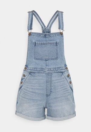 SHORTALL MEDIUM CLEAN - Peto - light blue denim