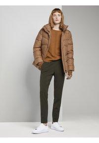 TOM TAILOR - Jumper - tawny brown melange - 1