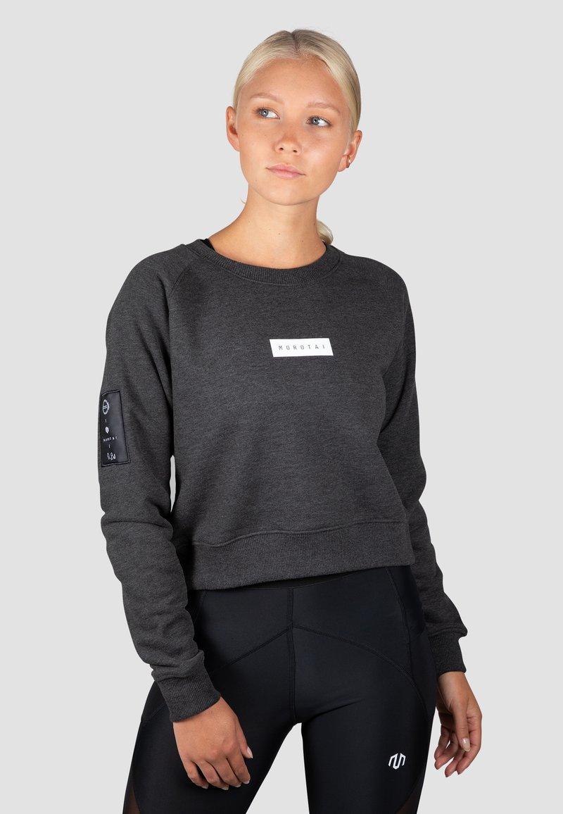MOROTAI - Sweatshirt - dunkelgrau