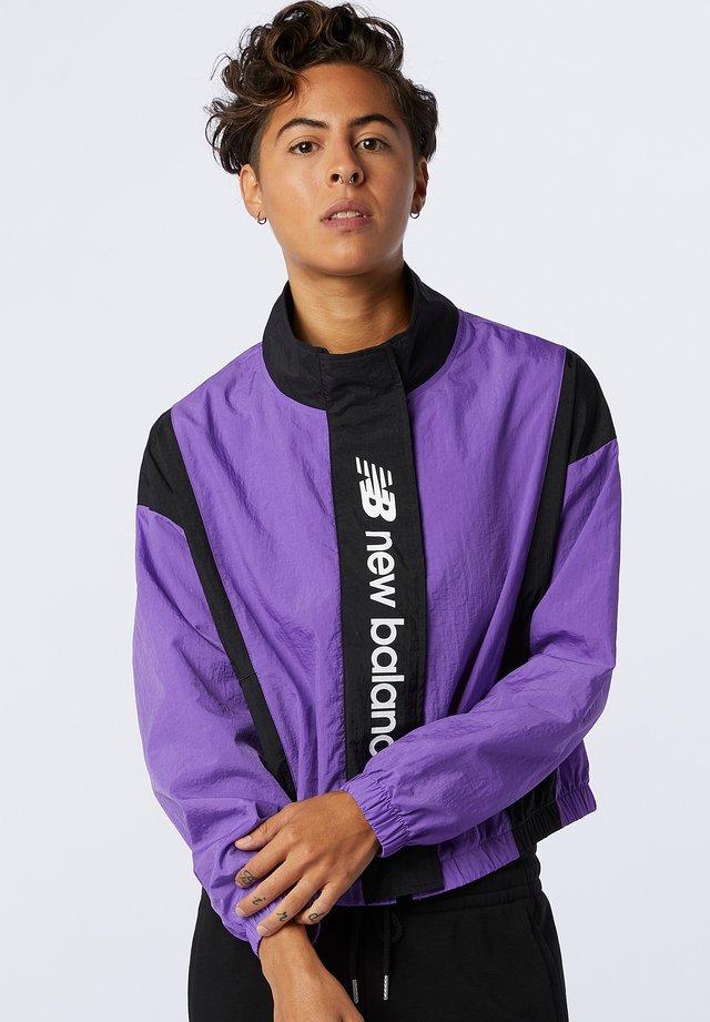 Träningsjacka - mirage violet