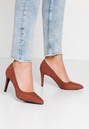 VMMELISSA - Classic heels - mahogany