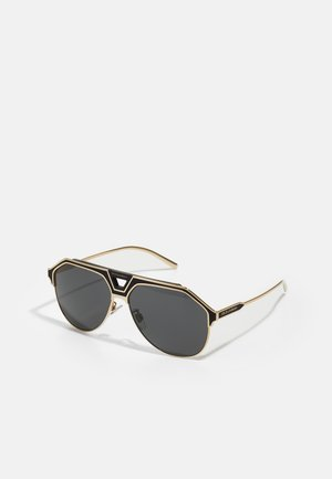 Lunettes de soleil - gold-coloured/black matte