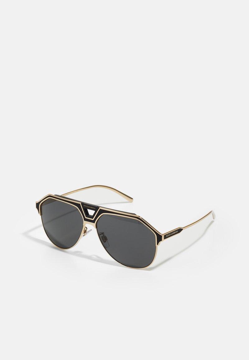 Dolce&Gabbana - Sunglasses - gold-coloured/black matte