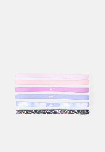 PRINTED HEADBANDS 6 PACK - Muut asusteet - light thistle/white/iced lilac