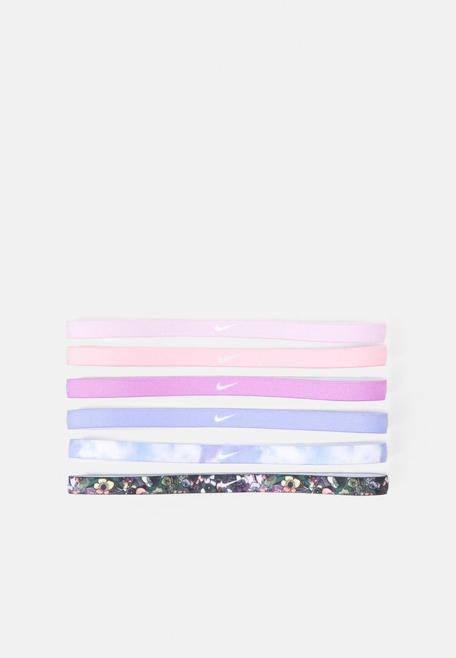PRINTED HEADBANDS 6 PACK - Jiné doplňky - light thistle/white/iced lilac