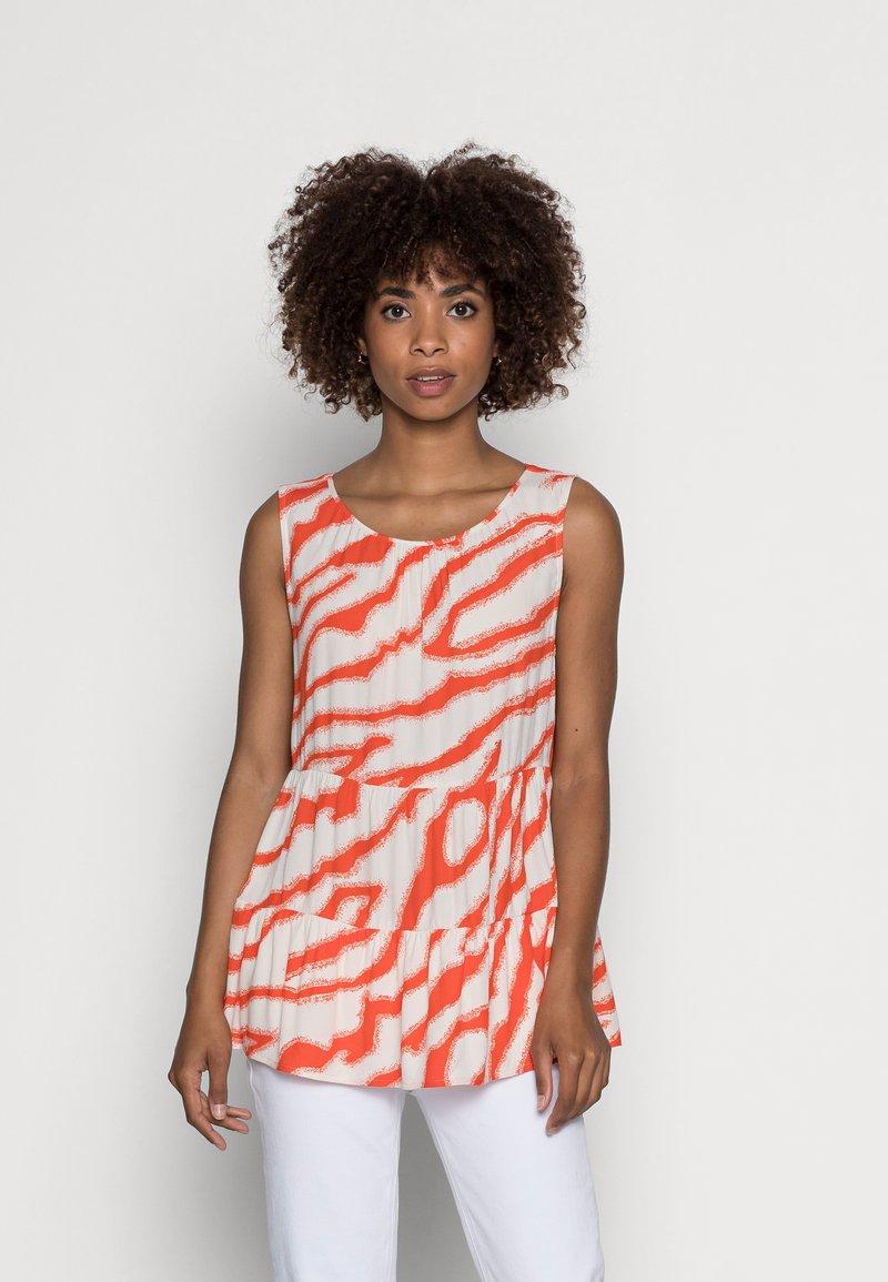 comma casual identity - Blouse - orange