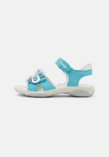 Sandals - turquoise