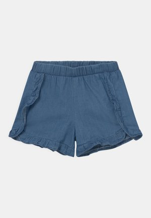 SMALL GIRLS  - Denim shorts - denim blue