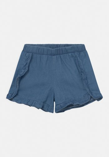 SMALL GIRLS  - Denim shorts - denim blue