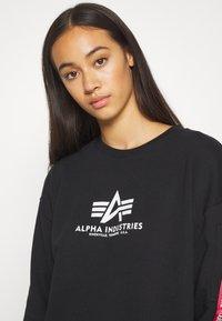 Alpha Industries - BASIC LONG - Korte jurk - black - 4