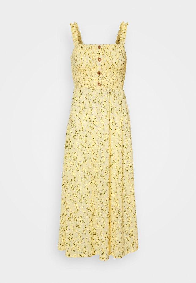 ONLPELLA DRESS - Maxi dress - sunshine