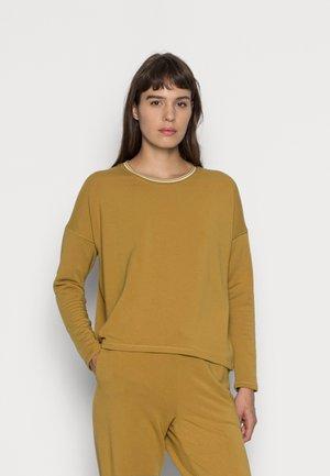 CREW NECK - Sweatshirt - bronzed lichen