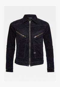 G-Star - AIR FORCE DENIM - Denim jacket - mazarine iced flock - 0
