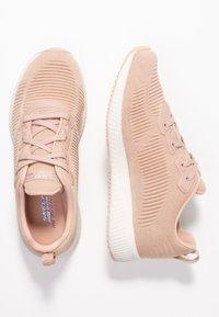 Skechers Sport - BOBS SQUAD - Zapatillas - light pink sparkle - 3