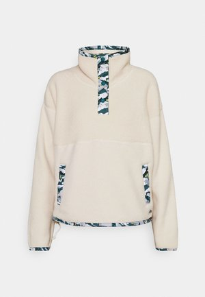 LIBERTY SIERRA SHERPA - Fleece jumper - bleached sand
